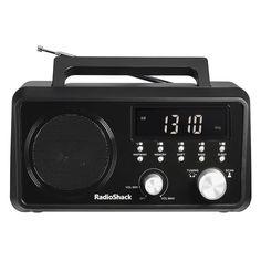 RadioShack Portable Digital Tuning AM/FM/Weather Band Table Radio