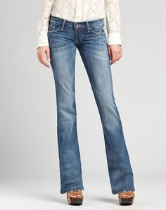 Lucky Brand Lil Maggie Womens Jeans
