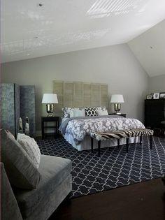 Zebra Print Bedroom Decorating Ideas