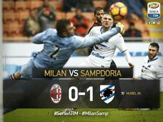 Serie A TIM Week 23: Milan 0-1 Sampdoria