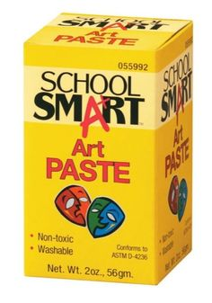 It is ca-ra-zy cheap! One 2 ounce box costs under $3.00 and makes an entire gallon of paste.    Art paste works like a charm. When simply mixed with cold water, this methyl cellulose powder makes the perfect goo for creating collage or paper mache sculpture.    Clean up is a snap too.