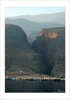 Samaria Gorge, Crete. repinned by http://www.greece-travel-secrets.com/Best-Things-to-Do-on-Crete.html