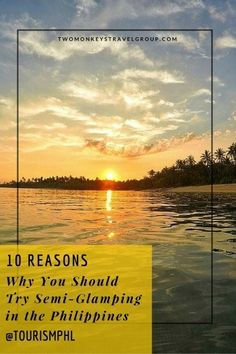 10 Reasons Why You Should Try Semi-Glamping in the Philippines Philippines is a travel haven and a perfect camping paradise. As travel ways evolve, travel language changes too; from camping to glamping, semi-glamping is now getting on our travel spotlight. You are surely familiar of glamping which is derived from glamorous and camping combined. While traditional camping is basic and raw, glamping is grand and convenient. Hence, semi-glamping lies in between the rawness of camping and the…