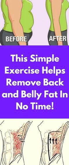 This Simple Exercise Helps Remove Back and Belly Fat In No Time! – Toned