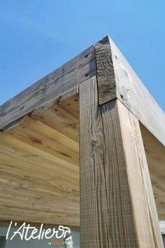 Wooden Gazebo, Backyard Pergola, Pergola Plans, Diy Patio, Shed Design, Patio Design, Garden Design, Framing Construction, Shed Construction