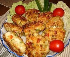 Рецепт очень вкусных и полезных котлет из куриного мяса с овощами и сыром. Вкус у этих котлет получается очень пикантный и необычный. | Рецепты для Вас!