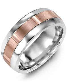 Plain Dome Brush Wedding Band Timeless and classically styled, this Domed Brush Finish Wedding Band is the perfect choice for traditional brides and. Black Diamond Wedding Rings, Titanium Wedding Rings, Or Rose, Wedding Bands, Wedding Ceremony, Rings For Men, White Gold, Grooms, Cobalt