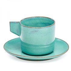 GERTRUD NATZLER (1908 - 1971); OTTO NATZLER (1908 - 2007)  - Demitasse cup and[...] | Dans la vente Mid-Mod à Rago Auctions
