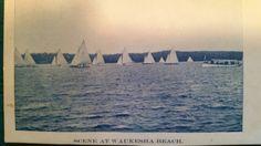 Pewaukee Lake, Sailboat Racing, Wisconsin, Opera House, Scene, Beach, The Beach, Beaches, Stage