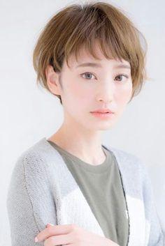 Japanese Short Hair, My Hair, Short Hair Styles, Hair Beauty, People, Appreciation, Hairstyles, Mini, Bob Styles