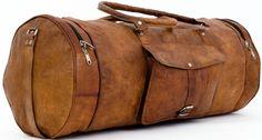 """Für alle Strapazen gewappnet und dabei auch noch stylisch – das ist """"Albert"""". Die Reisetasche aus naturgegerbtem Ziegenleder steht auf Süd- und Nordklima, auf Fernreisen und Wochenend-Trips. Egal für welche Reise, """"Albert"""" ist dabei - Weekender - Bordtasche - Reisetasche - Gusti Leder - R33b"""