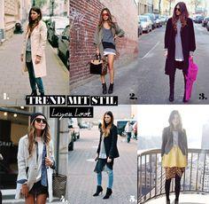 mitStil.net das Online Lifestylemagazin Trend mit Stil Layer Look Trends, Must Haves, Jackets, Fashion, Fashion Styles, Down Jackets, Moda, Fashion Illustrations, Jacket