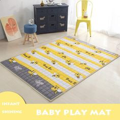 Mother & Kids Bright Ins Kids Car Storage Mat Baby Gyms Play Mat Floor Mats Round Childrens Climbing Beach Toys Storage Bag Outdoor Picnic Mat Let Our Commodities Go To The World