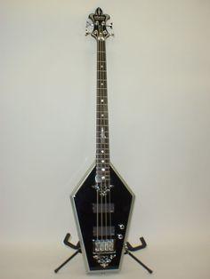 Schecter Sean Yseult 4-String Casket Bass Guitar FREE COFFIN CASE GIG BAG