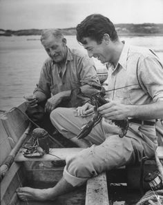 0 Gregory Peck fishing lobsters