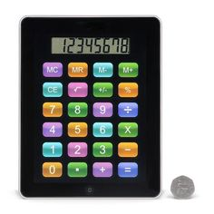 Mi-Touch Calculator Tablet Iphone Gadgets, Gadgets And Gizmos, Docking Station, Unusual Gifts, Calculator, Tea Cups, Birthday Gifts, Finding Yourself, Touch