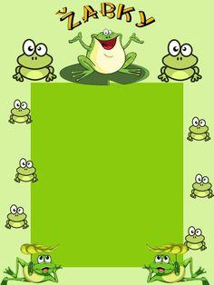 Frogs, Scrap, Printables, Cartoon, Comics, Preschool, Clowns, Print Templates, Cartoons