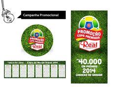 Peça: Campanha Promocional Copa do Mundo Cliente: Lojas Real  #campanhas #publicidade #i9 #inovacao #guarapuava