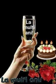 Birthday Wishes, Happy Birthday, Flute, Champagne, Tableware, Anul Nou, Mary, Places, Day Planners