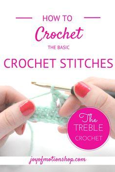 handmade or crochet pattern Basic crochet stitches http://joyofmotion.no/basic-crochet-stitches/