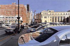 Hiperrealismo del pintor Richard Estes