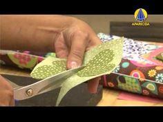 Tudo Artesanal | Bloquinho Borboleta por Andrea Malheiros - 28 de Maio de 2013 - YouTube