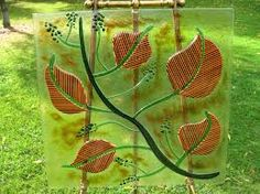 Natural Beauty – fused art glass panel by Greg Locke - Gotham ...
