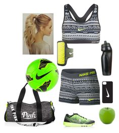 """Sporty Fun"" by isabel32297 ❤ liked on Polyvore featuring NIKE, Dot & Bo, women's clothing, women's fashion, women, female, woman, misses and juniors"