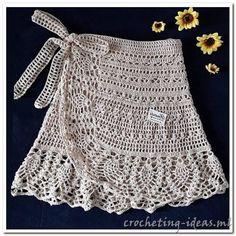 35 examples of beautiful knitting patterns beautiful examples knitting patterns Crochet Skirt Pattern, Crochet Skirts, Crochet Clothes, Crochet Lace, Crochet Bikini, Crochet Summer, Crochet Blouse, Filet Crochet, Easy Knitting Patterns