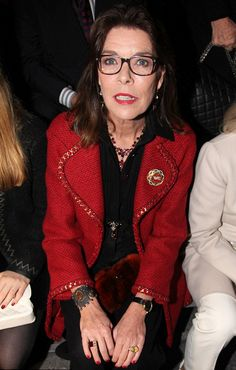 1. Dezember 2015 / Princess Caroline attended the Chanel's Métiers D'Art Pre-Fall 2016 fashion show in Rome, Italy