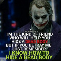 I helped out those that needed help when they were in trouble times 👊 but you gonna talk behind to a female bad about me.i smell pussy.yall act like lions tel a lion walks in. Joker Qoutes, Best Joker Quotes, Epic Quotes, Dark Quotes, Badass Quotes, Amazing Quotes, Wisdom Quotes, True Quotes, Funny Quotes