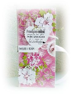Wedding card box for chocolate from Romantyczka