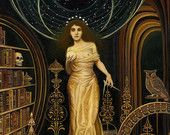 Urania - The Muse of Astronomy and Philosophy 8x10 Print