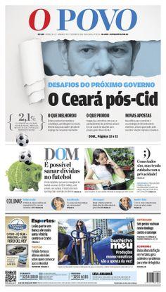 Jornal O POVO - ediçao digital de domingo, 09 de fevereiro de 2014