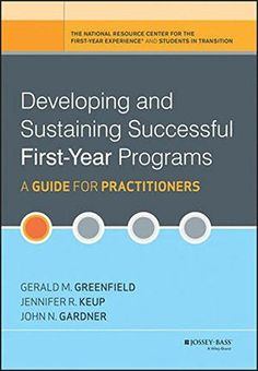 12 best reference books images on pinterest reference book book developing and sustaining successful first year programs a guide for practitioners fandeluxe Images