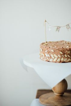 (gluten + dairy free) chocolate coffee layer cake//