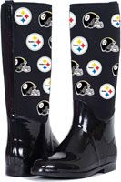 Pittsburgh Steelers The Enthusiast II Rain Boots/ Christmas is coming