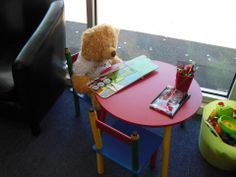 Keeping busy in our children's play area