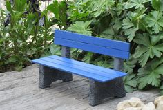 Miniature park bench | This is in scale 1:16 (suitable for B… | Flickr