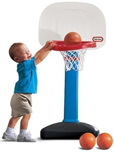 eaaf289de Little Tikes Easy Basketball Set - cool outdoor toy for toddlers Outside  Toys For Toddlers