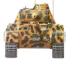 El Panzer Kampfwagen V Ausf A. Panther