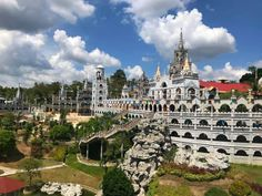 Simala Shrine: The Miraculous Castle Church in Cebu Bus Terminal, Blessed Virgin Mary, Lets Do It, Philippines Travel, Cebu, Miraculous, Paris Skyline, The Good Place, Places To Go