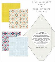 """3 """" sqaure envelope template by Sean Neumann"""