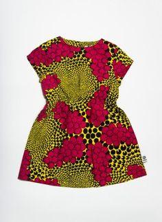 #Kwadusa. Coco kjole pink grapes