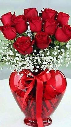 Holy Spirit speak of the Rose of Sharon. Beautiful Rose Flowers, Beautiful Flowers Wallpapers, Romantic Flowers, Pretty Flowers, Flowers Gif, Exotic Flowers, Valentine Flower Arrangements, Valentines Flowers, Beautiful Flower Arrangements