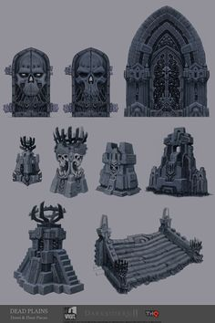 Darksiders II Concept Art by Jonathan Kirtz