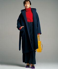 人気スタイリストが月替わりで提案 『ナノ・ユニバース』大人が素敵に見える色 ~Vol.3 辻直子さんの【Clear color】~Marisol ONLINE 女っぷり上々!40代をもっとキレイに。