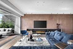 Sala Grande, Contemporary Apartment, New Living Room, Pent House, Decoration, Architecture, Living Room Designs, Interior Design, House Styles