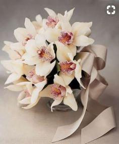 Cymbidium Bridal Bouquet