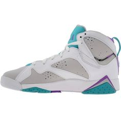 572580b0d01 The Air Jordan 7 Retro GS Grey / Blue / Purple / White 2011 finally reveal  themselves in images.